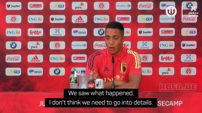Preview image for Tielemans sent message of support to Christian Eriksen in hospital