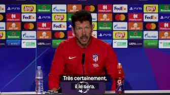 """Image d'aperçu pour Atlético de Madrid - Simeone : """"Que Griezmann soit ce qu'il a toujours été"""""""