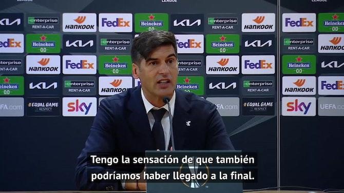 """Fonseca: """"Tengo la sensación de que también podríamos haber llegado a la final"""""""