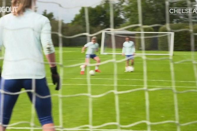 Les féminines de Chelsea préparent la finale de Ligue des Champions