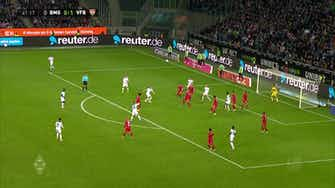 Image d'aperçu pour Le superbe but d'Hoffmann contre Stuttgart