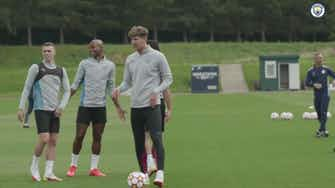 Preview image for Man City begin preparations for UCL opener vs Leipzig