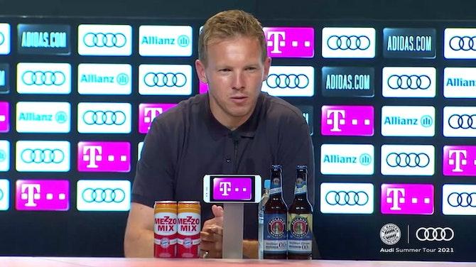 Vorschaubild für Nagelsmann über Thomas Müllers Zehen-Posting