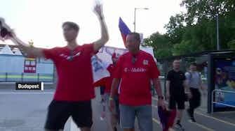 Anteprima immagine per Budapest - Olanda out, tifosi della Repubblica Ceca in festa