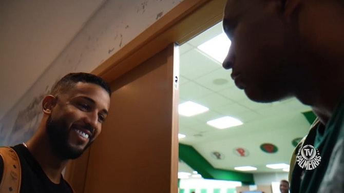 Imagem de visualização para Bastidores da chegada e primeiro dia de Jorge no Palmeiras