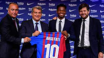 Vorschaubild für Nächster Eine-Milliarde-Euro-Spieler: Barca verlängert mit Fati