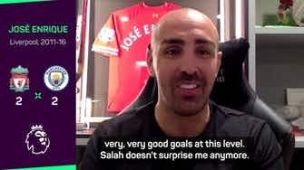 Preview image for Enrique tells Liverpool to 'give Salah whatever he wants'