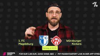 Vorschaubild für Magdeburg-Würzburg: Das beste Team der Liga gibt sich die Ehre