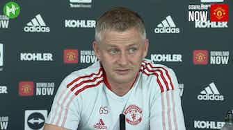 Preview image for Solskjær on the tough weeks coming up: 'We're looking forward to this run'