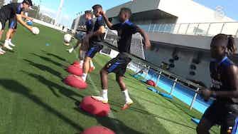 Imagen de vista previa para Eduardo Camavinga prepara el partido ante el Mallorca