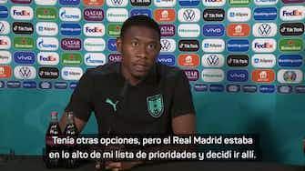 """Imagen de vista previa para Alaba: """"El Madrid estaba en lo alto de mi lista de prioridades"""""""