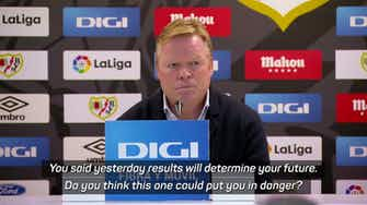 Preview image for Koeman's final words as Barca boss