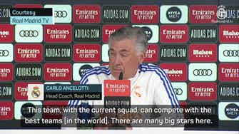 Preview image for Ancelotti insists team is full of 'trophy-winners'