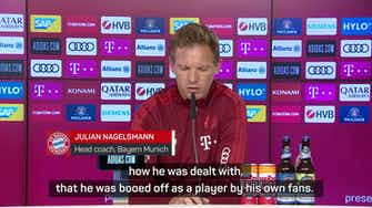 Preview image for Nagelsmann wants Sane goals to stop Bayern boos