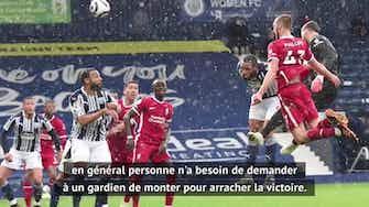 """Image d'aperçu pour 36e j. - Klopp sur le but dingue d'Alisson : """"Si Olivier Giroud met le même..."""""""