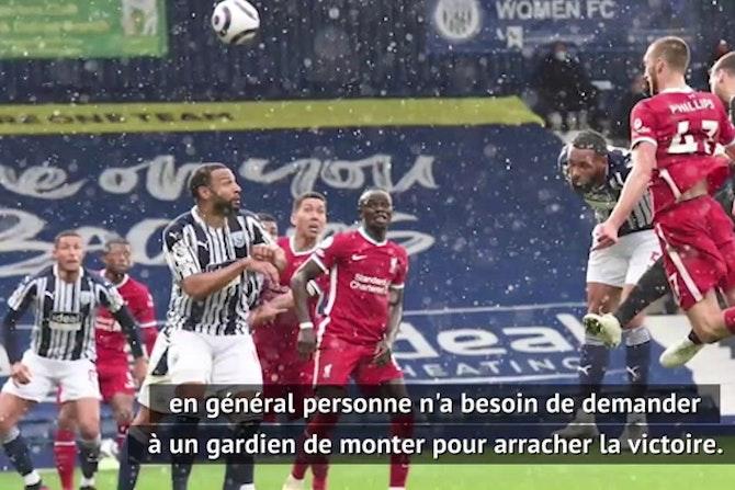 """36e j. - Klopp sur le but dingue d'Alisson : """"Si Olivier Giroud met le même..."""""""