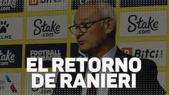 """Imagen de vista previa para El retorno de Ranieri: """"¿Por qué no Watford? Es un buen equipo"""""""