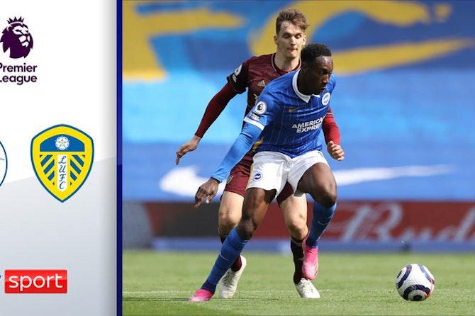 Welbeck beeindruckt & rundet Seagulls' Sieg ab | Highlights: Brighton - Leeds 2:0