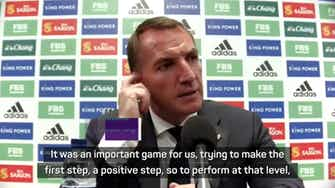 Preview image for Vardy is the ultimate professional - Rodgers