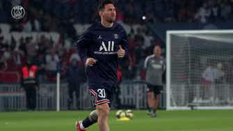 Preview image for Behind the scenes: Paris Saint-Germain beat Lyon in Messi's first home game