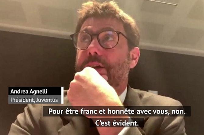 Super Ligue - Agnelli admet son échec