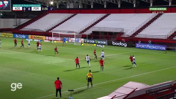 Melhores momentos de Atlético-GO x Fortaleza