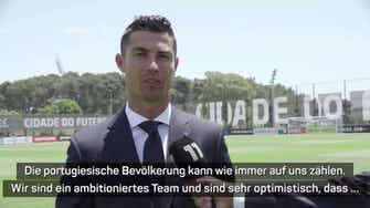 """Vorschaubild für Ronaldo vor EM-Start: """"Portugal kann auf uns zählen"""""""