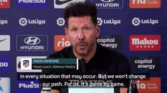 Preview image for Atletico will not change our path - Simeone