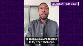 Preview image for Sturridge looking forward to 'fantastic opportunity' at Perth Glory