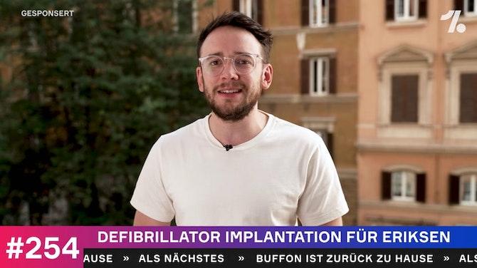 Vorschaubild für Eriksen bekommt Defibrillator implantiert