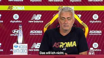 """Vorschaubild für Mourinho: """"Vielleicht bin ich zu ehrlich"""""""
