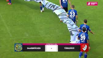 Vorschaubild für 1. FC Saarbrücken - Türkgücü München (Highlights)