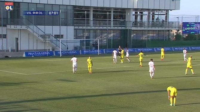 Image d'aperçu pour Les jolis buts de Jean Lucas et Aouar contre Villarreal