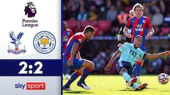 Vorschaubild für Vardy & Co. verspielen Führung | Highlights: Crystal Palace - Leicester 2:2