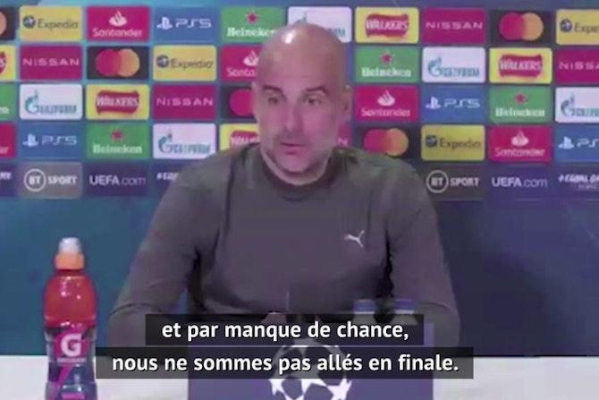 """Demies - Guardiola : """"Chaque demi-finale est différente"""""""