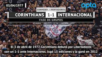 Imagen de vista previa para Un día como hoy: Corinthians debutaba en Libertadores