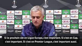 """Image d'aperçu pour Groupe J - Mourinho : """"Chaque match est important"""""""