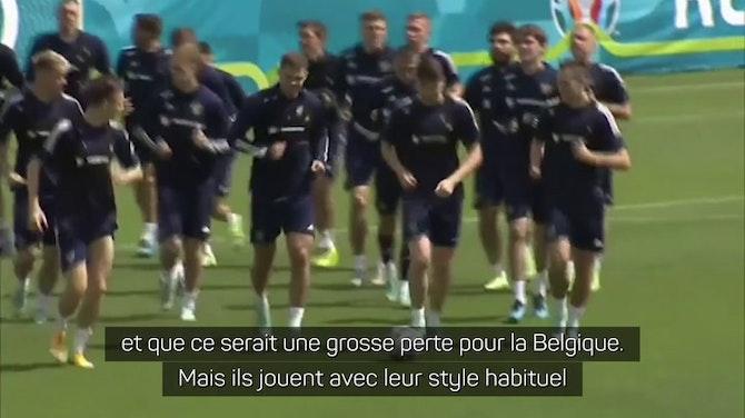 """Gr. B - Dzyuba : """"Avec ou sans De Bruyne, la Belgique est favorite"""""""