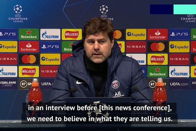 Pochettino wants UEFA to investigate claims referee Bjorn Kuipers swore at PSG players