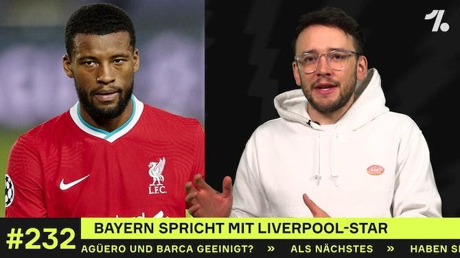 Vorschaubild für Bayern spricht mit Liverpool-Star