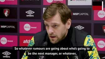 Preview image for Woodgate responds to Henry and Vieira's Bournemouth links