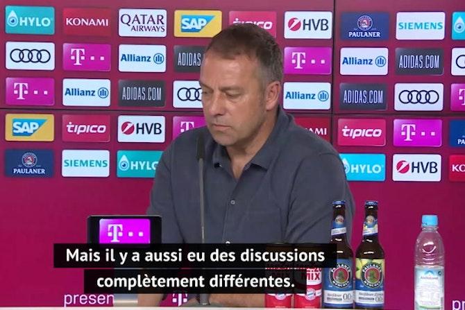Bayern - Flick confirme que les discussions pour être sélectionneur de l'Allemagne ont commencé