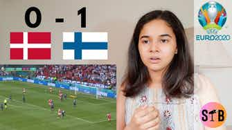 Preview image for REACTING to Denmark 0-1 Finland   #EURO2020