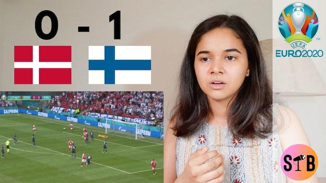 REACTING to Denmark 0-1 Finland | #EURO2020