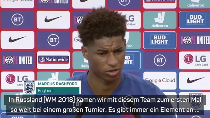 """Rashford: WM 2018 """"kann großer Unterschied sein"""""""