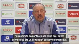 Imagen de vista previa para Benítez explicó las razones por las que Richarlison no sería sancionado por la FIFA