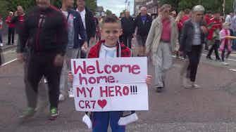 Image d'aperçu pour Man Utd - Le roi Cristiano est de retour