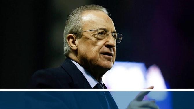 Imagen de vista previa para Florentino anuncia medidas legales por la grabación clandestina de conversaciones donde criticaba a Casillas y Raúl