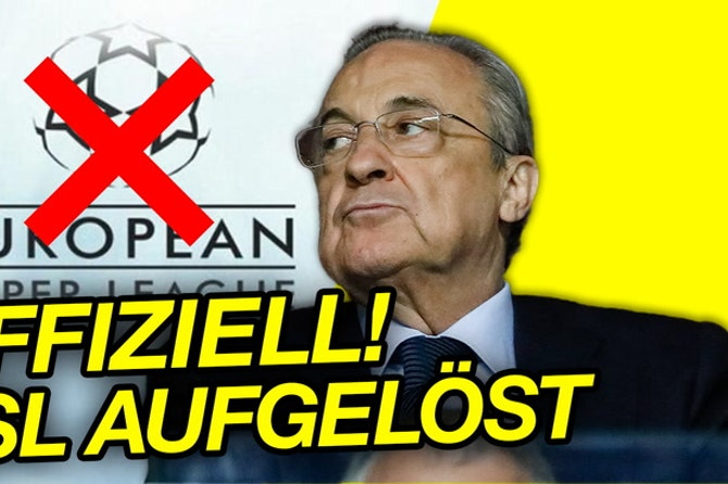 European Super League OFFIZIELL aufgelöst!