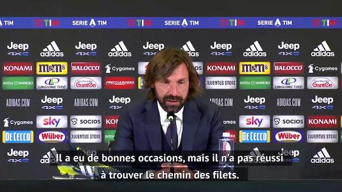 """30e j. - Pirlo : """"Pas d'amende pour Ronaldo"""""""